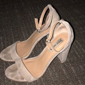 Steve Madden Carrson Heels in Taupe Suede Size 9